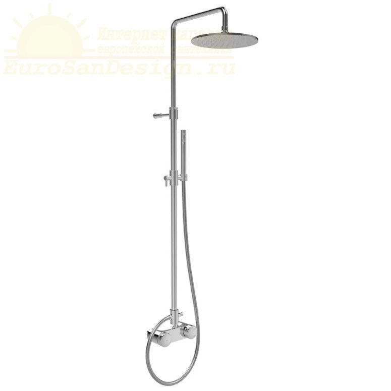 Душевая стойка с тропическим душем Fima - carlo frattini Wellness F5605/2