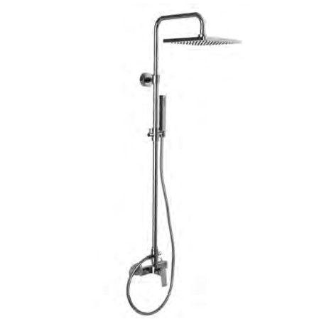Душевая стойка с тропическим душем Fima - carlo frattini Wellness F3385/2 ФОТО