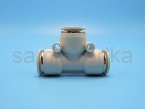 Тройник быстросъёмный Т-образный 10х6 пнев/шланг