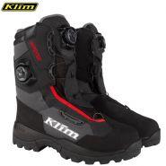 Ботинки Klim Adrenaline Pro Boa, Серо-красные