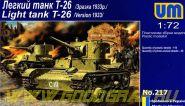 Легкий танк Т-26 (1933г)