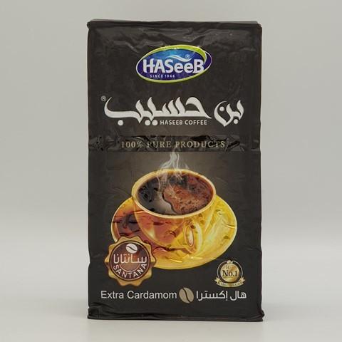 Арабский кофе с кардамоном extra Cardamon Хасиб HASEEB 500 гр