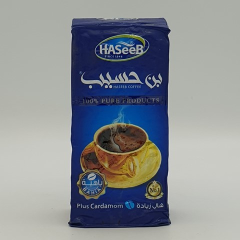 Арабский кофе с кардамоном plus Cardamon Хасиб HASEEB, 200 гр
