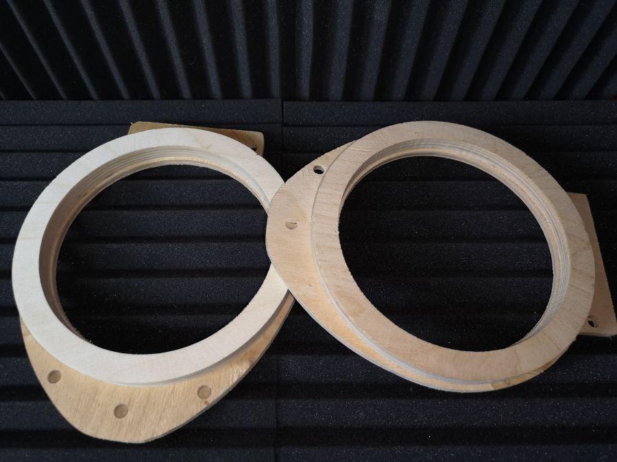 Кольца проставочные Chevrolet для акустики 16,5 см.