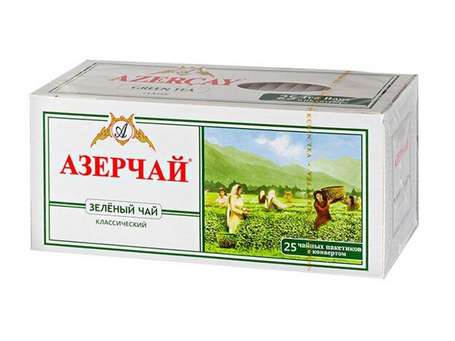 Азер чай зеленый букет 25 пак.