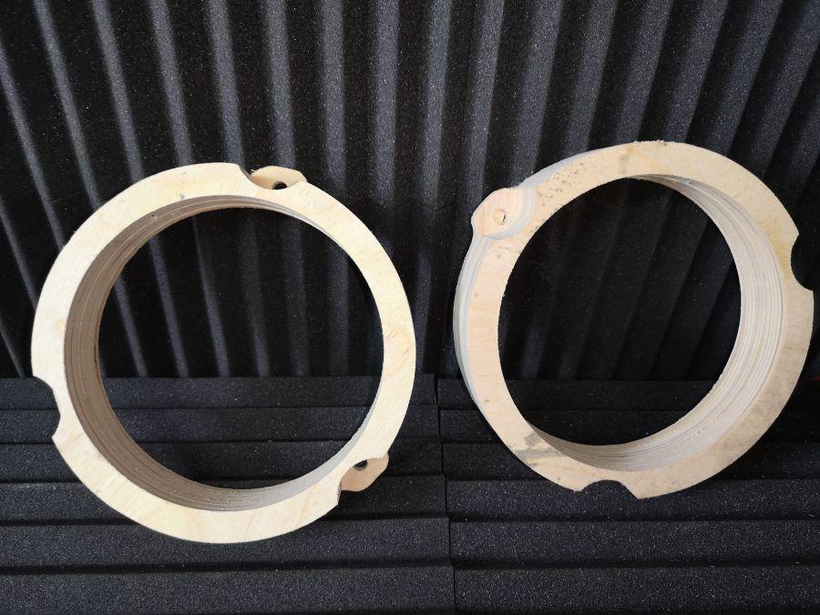 Кольца проставочные Hyundai Solaris для акустики 16,5 см.