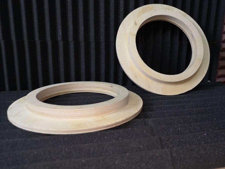 Универсальные проставочные кольца под акустику 16,5 см. из фанеры