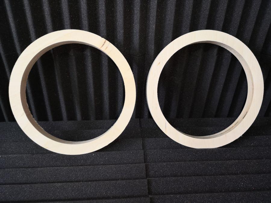 Проставочные кольца под акустику 16,5 см. из фанеры