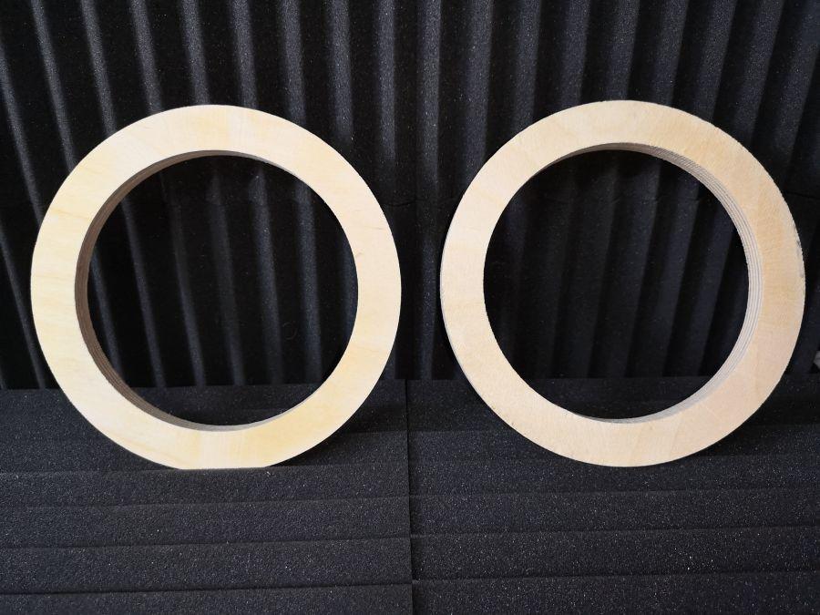 Проставочные кольца под акустику 16,5 см. из фанеры (увеличенные)