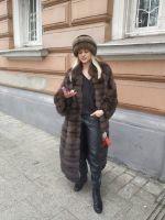 соболиное манто купить в Москве фото