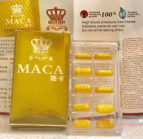 "Таблетки ""MACA"" для потенции , 10 таб для потенции"