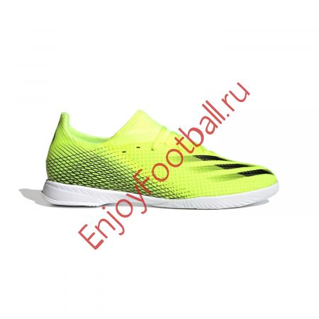 ФУТЗАЛКИ ADIDAS X GHOSTED.3 IN (SS21) FW6937