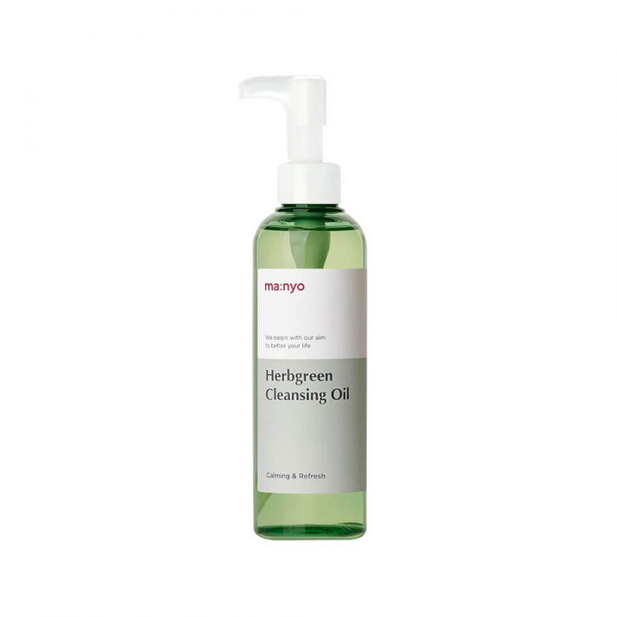 Гидрофильное масло для жирной и проблемной кожи Manyo Herb Green Cleansing Oil 200 ml