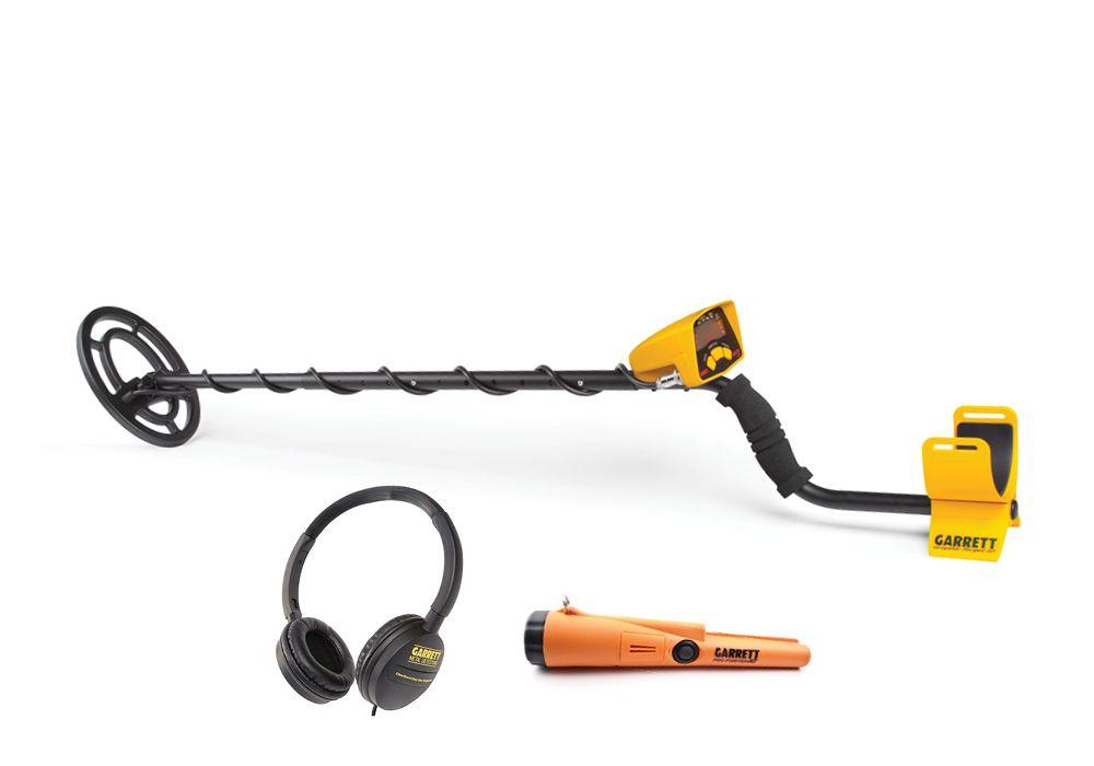 Металлоискатель Garrett Ace 200i в комплекте с Pro-Pointer AT и наушниками