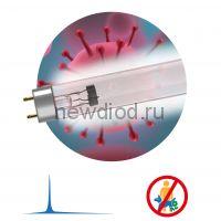 УФ UV-С ДБ 15 Т8 G13  ЭРА Бактерицидная ультрафиолетовая лампа T8/15W