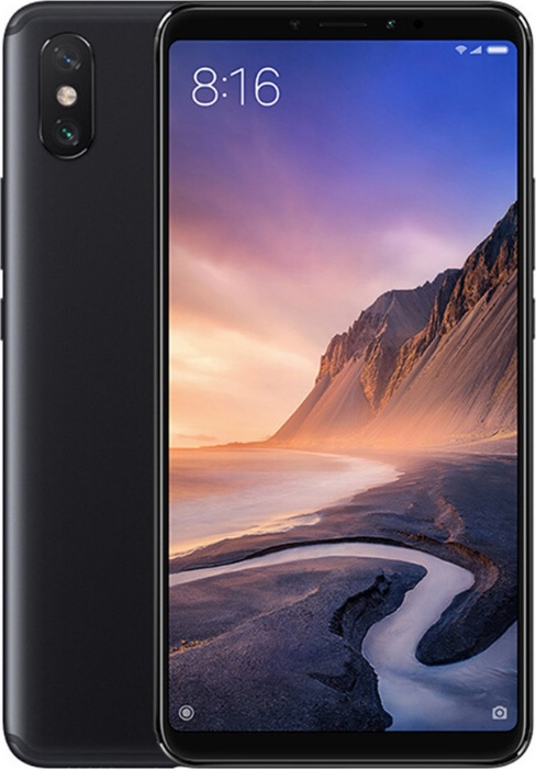 Смартфон Xiaomi Mi Max 3 64Gb Black (Global Version)