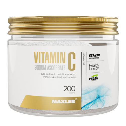 Maxler - Vitamin C Sodium Ascorbate Powder