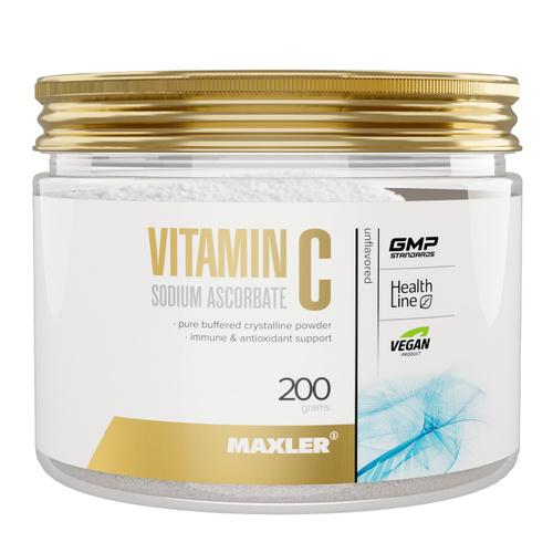 Maxler - Vitamin C Sodium Ascorbate Powder