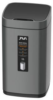 Сенсорное ведро 12 л JAVA S-883-12Q графит