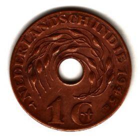 Нидерландская Ост-Индия 1 цент 1945 P