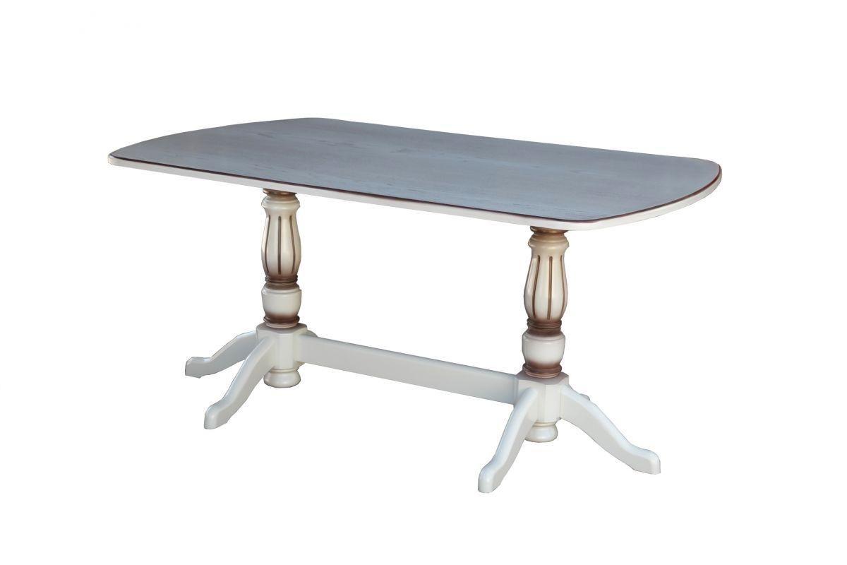 """Стол обеденный с 2-мя ножками """"Консул"""" 1400*800"""