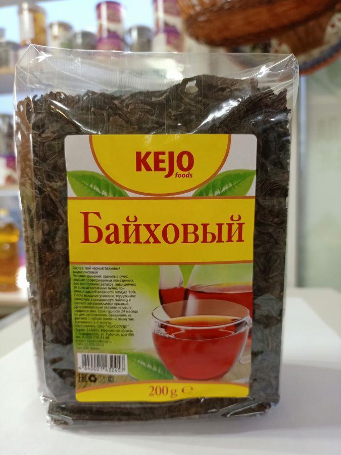 Чай черный байховый kejo 200 гр