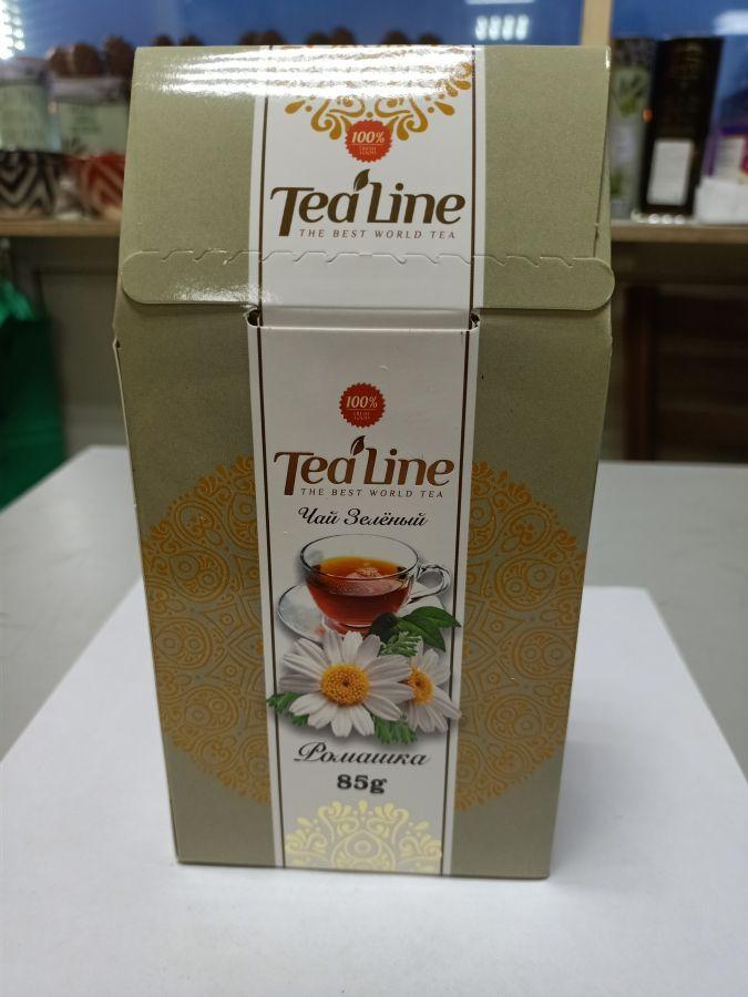 Чай ТиЛайн зелёный ромашка 85 гр
