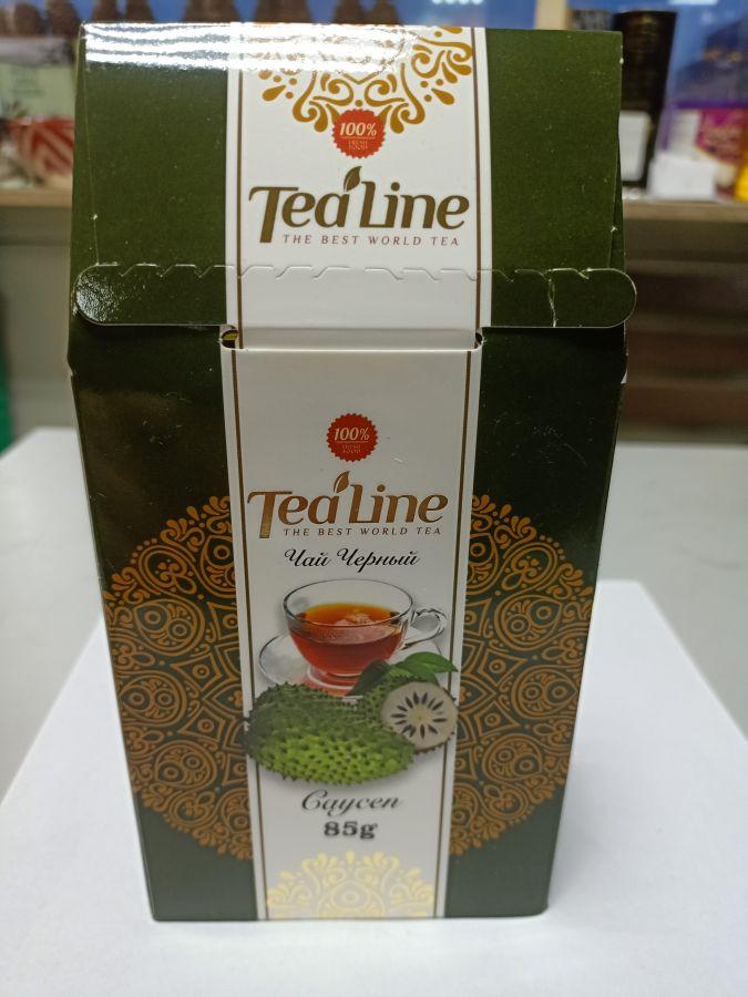 Чай ТиЛайн черный  с саусепа  85 гр