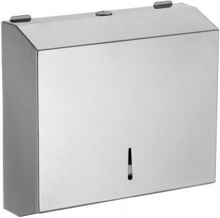 Диспенсер для бумажных полотенец глянцевый Savol S-F6002R хром