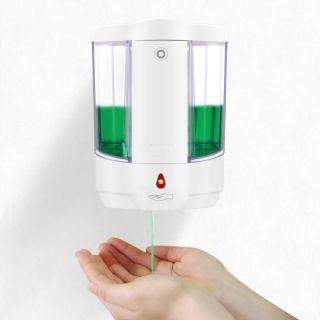 Сенсорный дозатор для жидкого мыла 0,7 л Savol ZY8239 белый