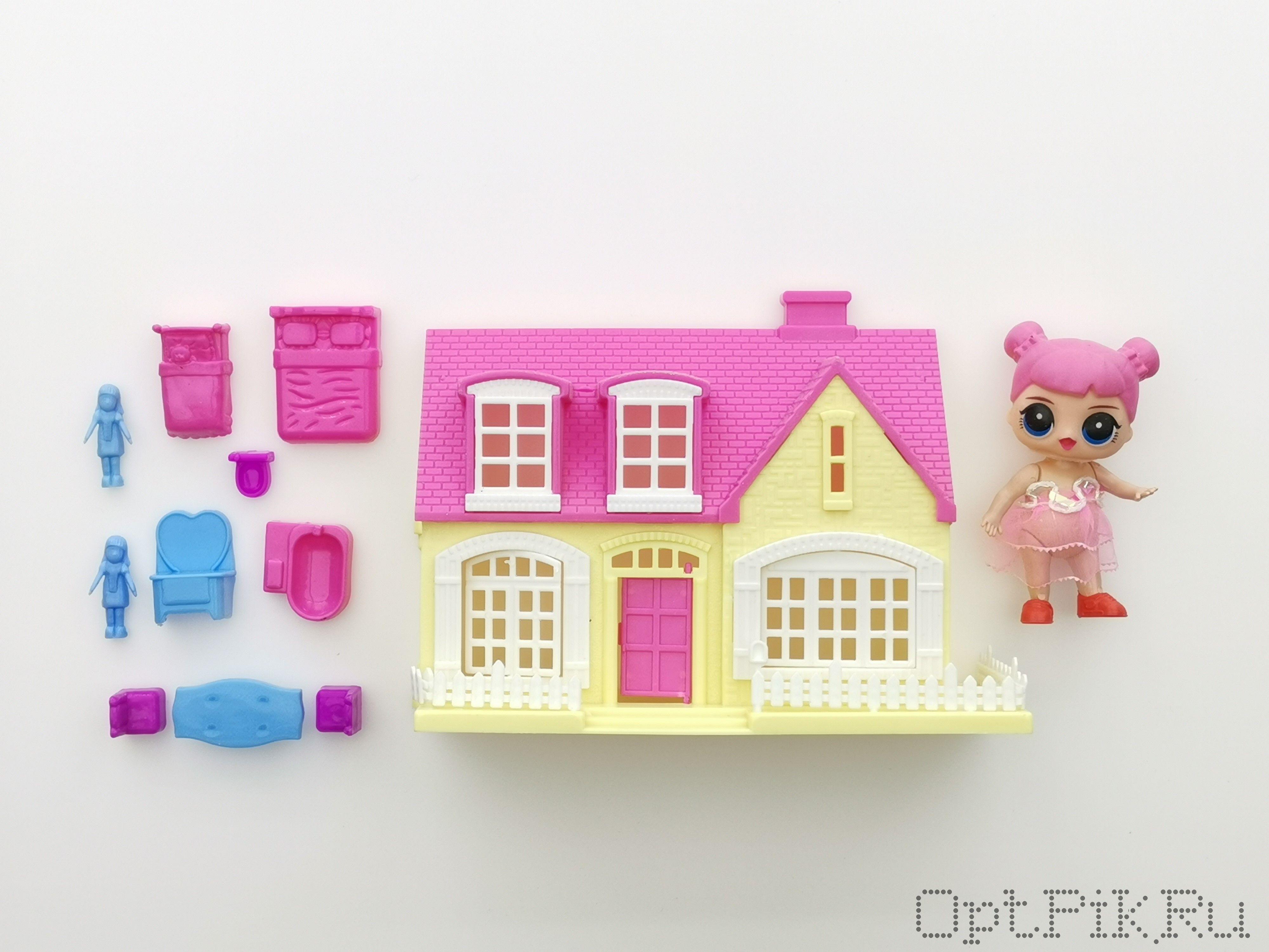 Домик для кукол с куклой LOL