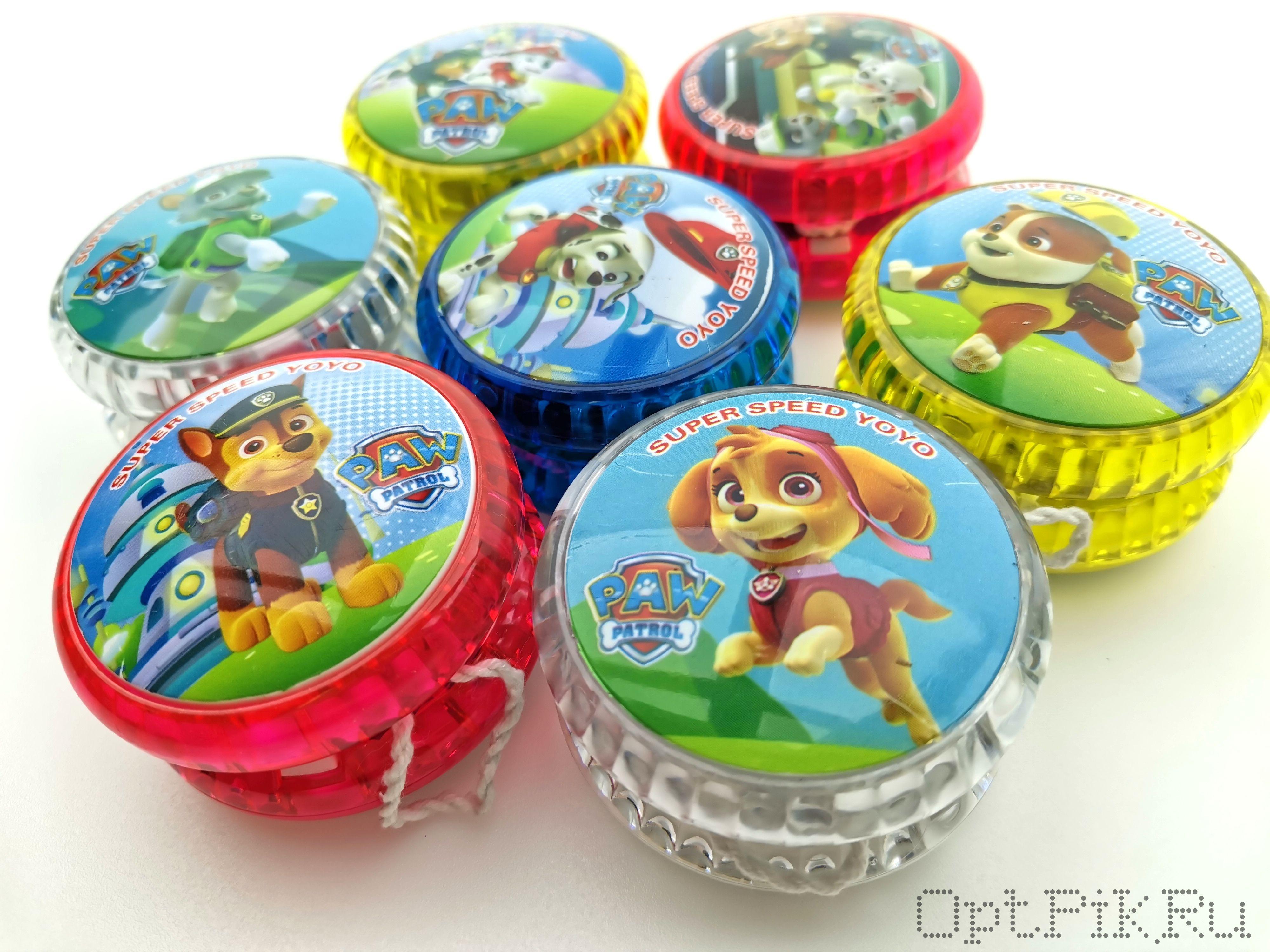 Игрушка Йо-Йо (Yo-Yo) Щенячий патруль светящаяся