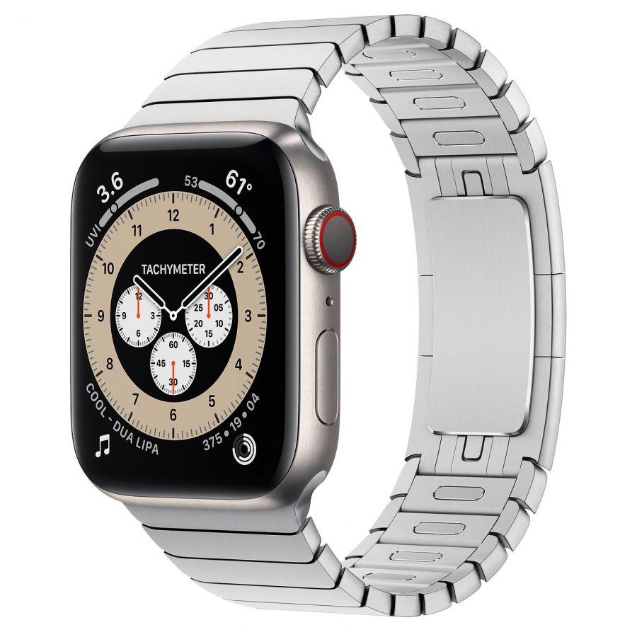 Ремешок Apple Watch Series 6 Silver Link Bracelet (для корпуса 44 мм)