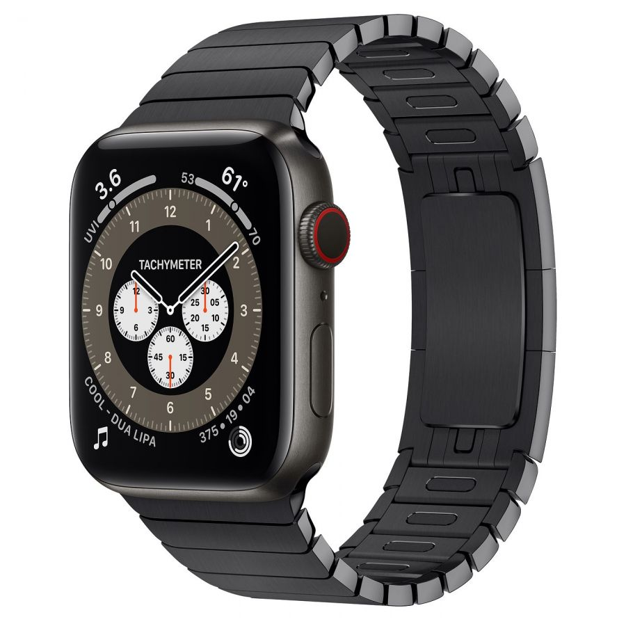 Ремешок Apple Watch Series 6 Space Black Link Bracelet (для корпуса 44 мм)