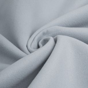 Пальтовая ткань -  Браш серо-голубой  50х37