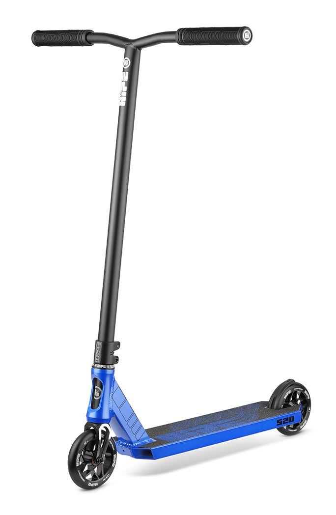Самокат трюковый HIPE S20 black/blue 2021