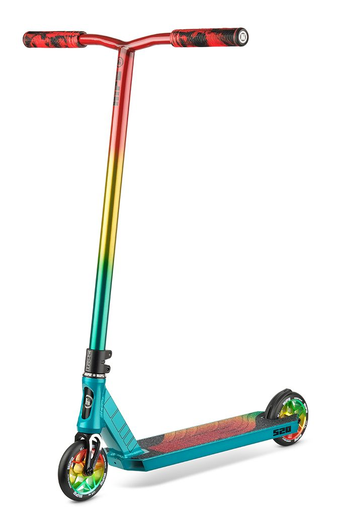 Самокат трюковый HIPE S20 Colorful 2021