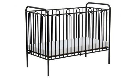 Кроватка детская Polini kids Vintage 110 металлическая