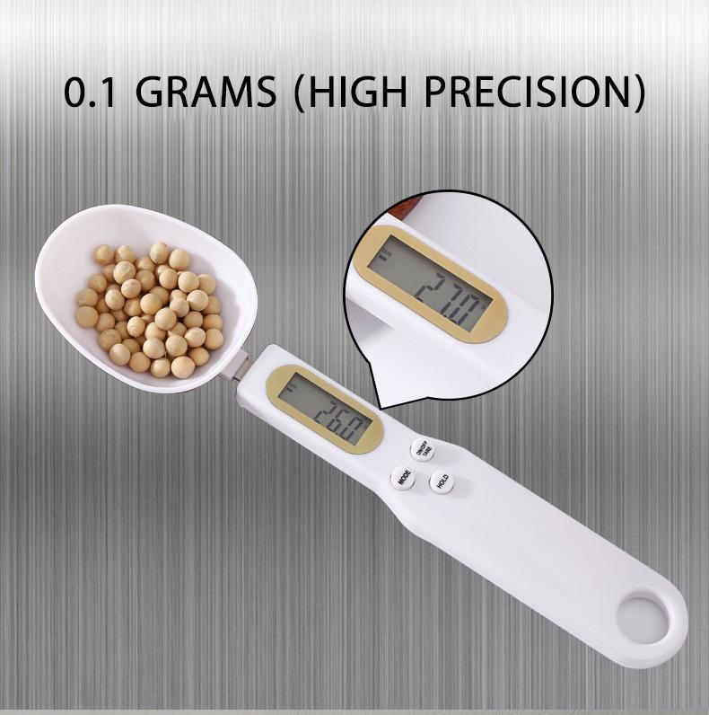 Орбита OT-HOW07 весы-ложка кухонные 500гр точность 0.1гр
