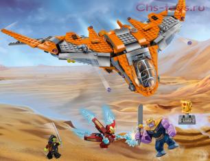 Конструктор Lari Супер Герои Танос: последняя битва 10839 (76107) 709 дет