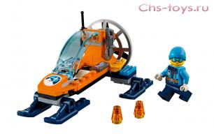 Конструктор LEPIN City Аэросани 02106 (Аналог LEGO City 60190) 56 дет