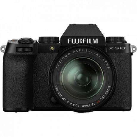 FUJIFILM X- S 10 KIT 18-55 BLACK