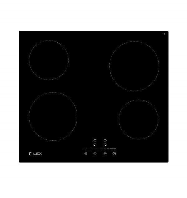 Электрическая варочная панель LEX EVH 640-1 BL CHYO000196