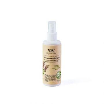 ОрганикЗон - Несмываемый спрей-кондиционер для стимулирования роста и укрепления волос (на отваре коры дуба и цветочной воде шалфея)