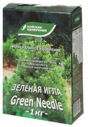 Удобрение сухое БХЗ Зеленая игла для хвои минеральное 1кг
