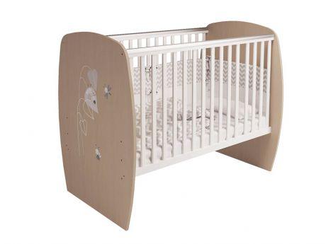 Кровать детская Polini kids French 700, Amis