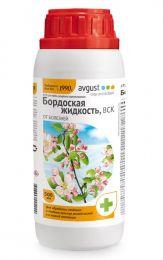 Фунгицид Август Бордоская жидкость для плодовых культур комплексный 500мл