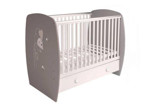 Кровать детская Polini kids French 710, Amis, с ящиком