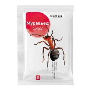 Инсектицид Август Муравьед Супер от садовых и домовых муравьев 50г - все для сада, дома и огорода!