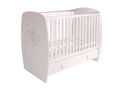 Кровать детская Polini kids French 710, Teddy, с ящиком
